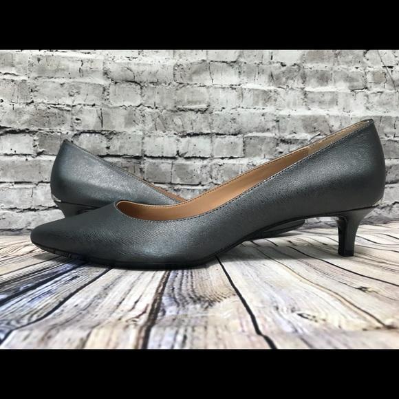 b6275eef0726 Calvin Klein Gabbriana Pumps Size 9 Shadow Gray